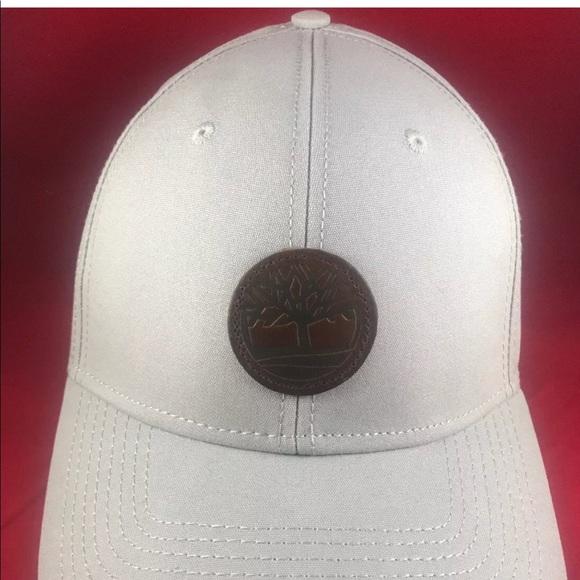 5f9a54125 Timberland Men's Gray Adjustable Snapback Hat NWT